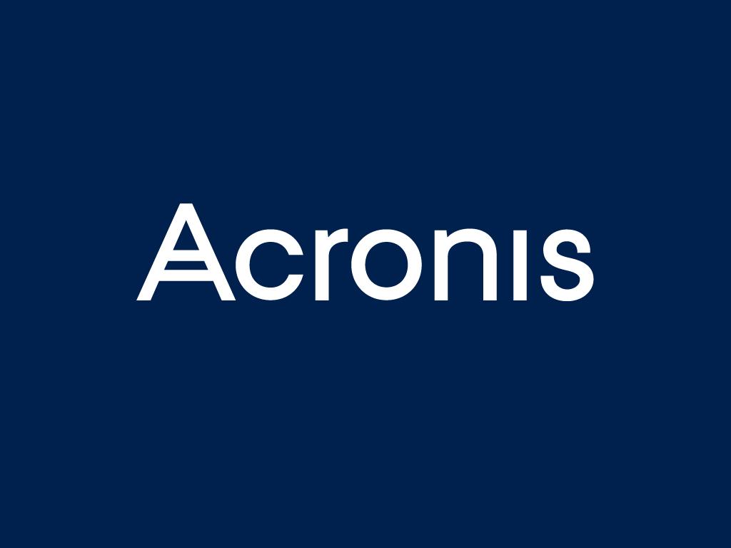 Acronis logo invert