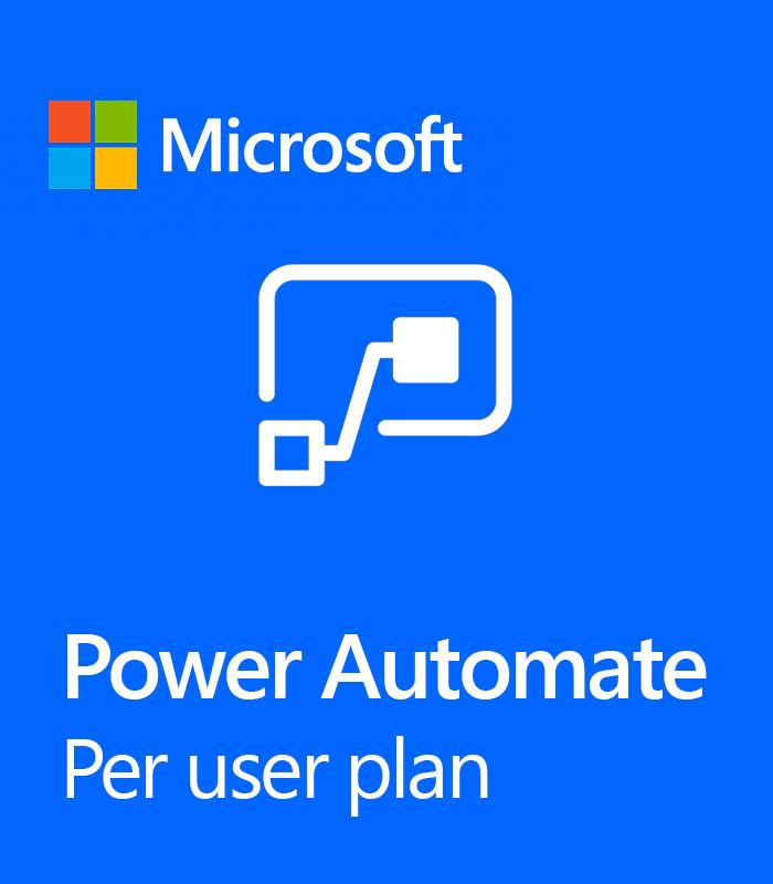 Pepas Cloud Power Automate per user plan