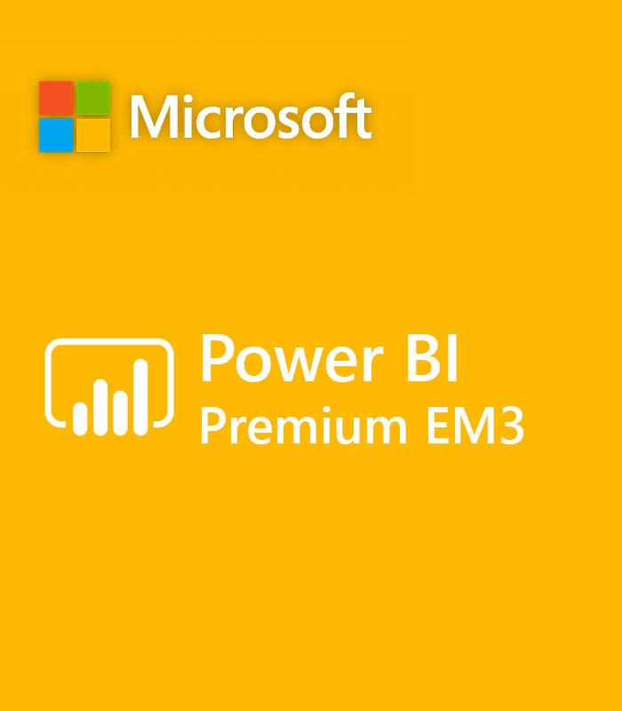 Pepas Cloud Power BI Premium EM3