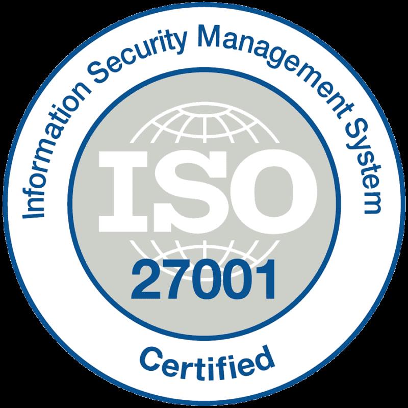 Pepas Cloud ISO 27001 certified